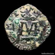 Monedas medievales: ENRIQUE III DE NAVARRA LIARD DE VELLON. 1581/87 - NAVARRA ESCUSON. Lote 296763998