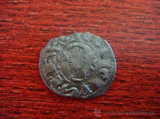 SANCHO VI, EL SABIO. REY DE NAVARRA (1150-1194) OBOLO DE VELLÓN (Numismática - Medievales - Navarra)