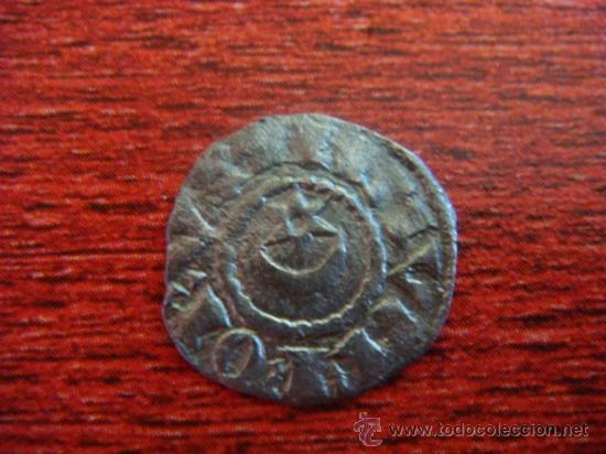 SANCHO VII, EL FUERTE. REY DE NAVARRA. (1194-1234) ÓBOLO DE VELLÓN (Numismática - Medievales - Navarra)