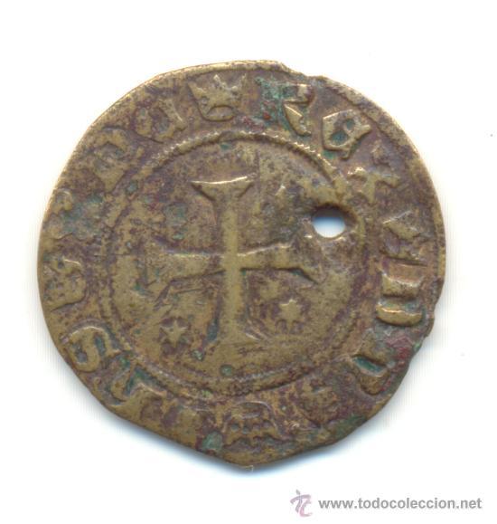 JETON DE FRANCIA EN EL NOMBRE DE JESÚS DIÁMETRO: 27 MM. (Numismática - Medievales - Navarra)