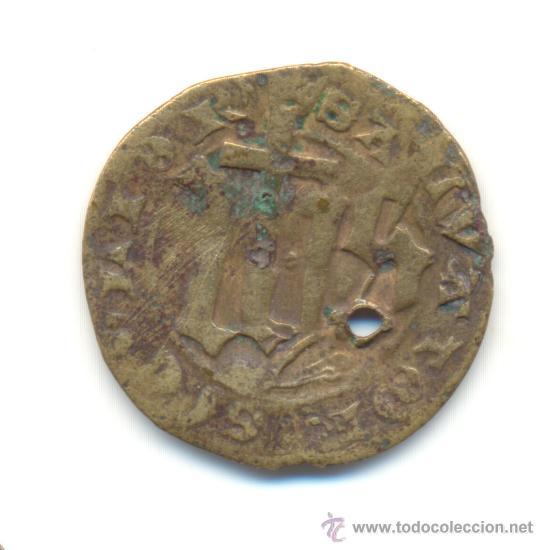 Monedas medievales: JETON DE FRANCIA EN EL NOMBRE DE JESÚS DIÁMETRO: 27 MM. - Foto 2 - 27537086