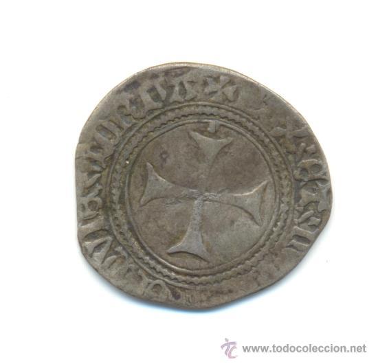 Monedas medievales: RARA BLANCA DE VELLÓN DE CATALINA DE NAVARRA (1483-1517) BEARN - Foto 2 - 28545670