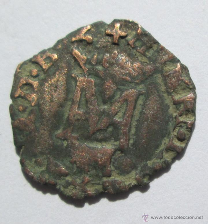 MARGARITA DE VALOIS/ HENRI III (1572/99)-LIARD -PAU (VACA) (Numismática - Medievales - Navarra)
