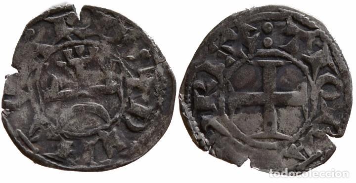 NAVARRA DINERO DE TEOBALDO II (Numismática - Medievales - Navarra)