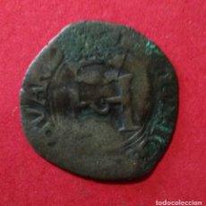 Monedas medievales: NAVARRA FRANCESA. LIARD DE LA CRUZ. HENRI D'ALBRET.1516-1555. VELLÓN . Lote 90190888