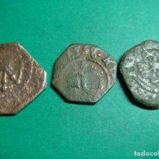 Monedas medievales: LOTE 3 MONEDAS DE NAVARRA. Lote 106217559