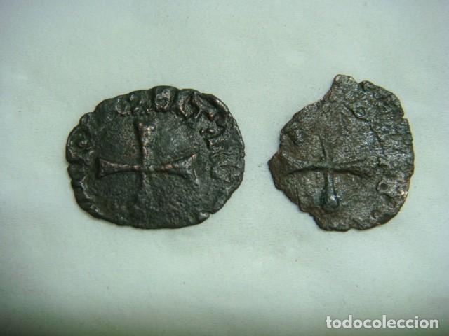 Monedas medievales: Navarra, 2 cornados de Catalina y Juan. - Foto 2 - 112229947