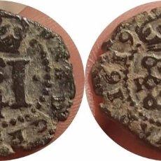 Monedas medievales: BONITOS 4 CORNADOS DE NAVARRA 1619. Lote 136501258