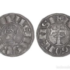 Monedas medievales: REINOS DE NAVARRA Y ARAGÓN, DINERO., NAVARRA.. Lote 138762997