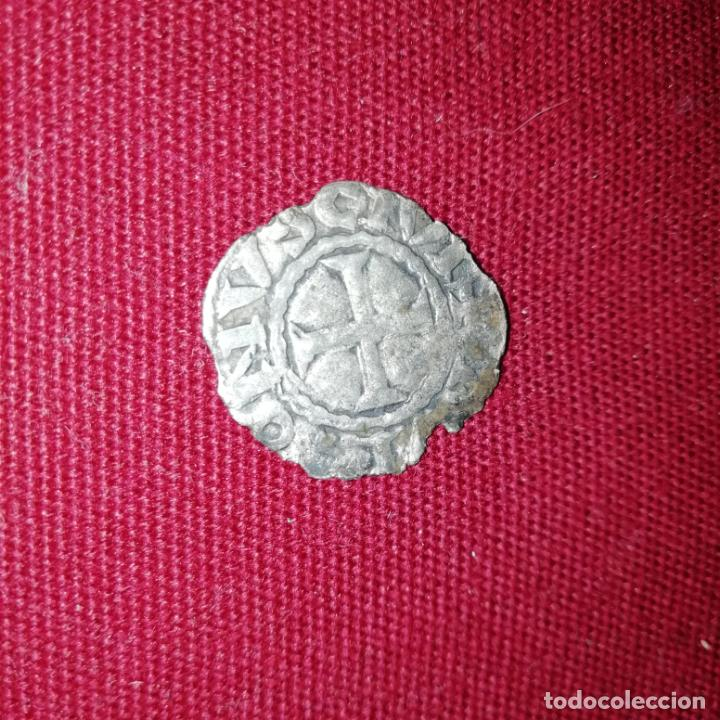 FELIPE I DE NAVARRA Y IV DE FRANCIA, EL HERMOSO. CARLÍN NEGRO. DINERO DE VELLÓN (Numismática - Medievales - Navarra)