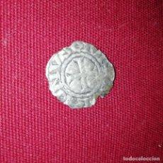 Monedas medievales: FELIPE I DE NAVARRA Y IV DE FRANCIA, EL HERMOSO. CARLÍN NEGRO. DINERO DE VELLÓN. Lote 142808814