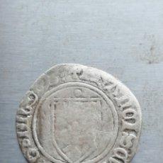 Monedas medievales: FRANCISCO I DE NAVARRA EL FEBO BLANCA DE BEARN PLATA. Lote 147265532