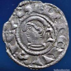 Monedas medievales: SANCHO VLL EL FUERTE ( 1194-1234) NAVARRA NAVARRORVM VARIANTE RARÍSIMA LUNA MACIZA. Lote 150414333