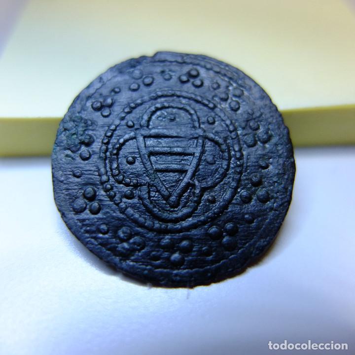 Monedas medievales: JETON -TOKEN - Felipe IV el Hermoso rey de Francia y Navarra - SXIII - medieval - Foto 2 - 150622270