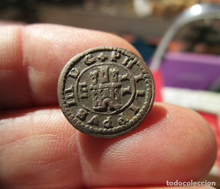 Monedas medievales: FELIPE III . DOS MARAVEDIS DE LA MAXIMA CALIDAD - Foto 4 - 150942542