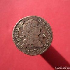 Monedas medievales: CARLOS III . 2 MARAVEDIS DE CALIDAD. Lote 152560722