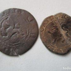 Monedas medievales: LOTE DE 2 COBRES DE REYES CATOLICOS. Lote 155785842