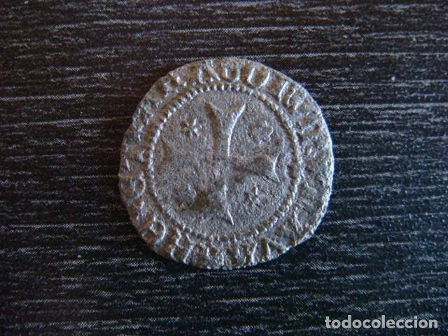 Monedas medievales: Juan I. Navarra 1441-1479. Cornado - Foto 2 - 158085722