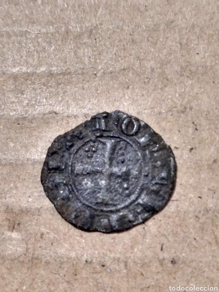 Monedas medievales: DINERO DE FEDERICO II DE SICILIA ITALIA AÑO 1225 PUNTOS EN ÁNGULOS - Foto 2 - 168601997