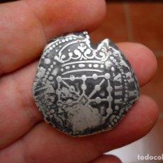 Monedas medievales: FELIPE IV.8 REALES DE PLATA.NAVARRA.1652.MUY RARA. Lote 173139224