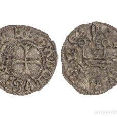 Monedas medievales: REINO DE NAVARRA, 1/2 CARLÍN NEGRO.. Lote 181486280