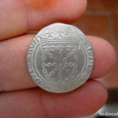 Monedas medievales: FERNANDO V.REAL DE PLATA.NAVARRA.ESCASA. Lote 183483287