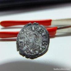 Monedas medievales: DINERO - PEDRO EL DE HUESCA - REY DE ARAGÓN Y NAVARRA - MONEDA MEDIEVAL - JACA. Lote 183571605