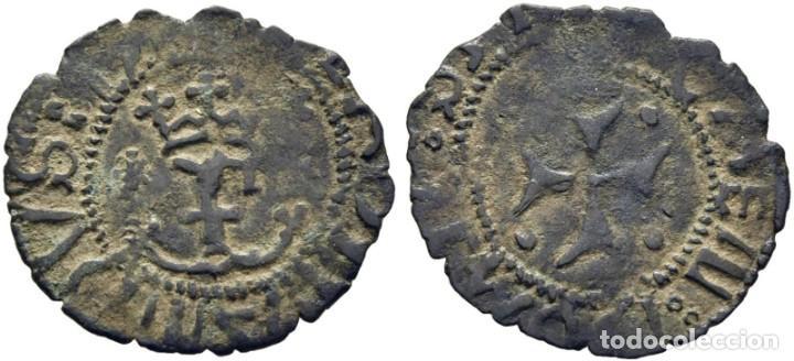 NAVARRA. FERNANDO V. 1513-1516. PAMPLONA. DINERO. EBC (Numismática - Medievales - Navarra)