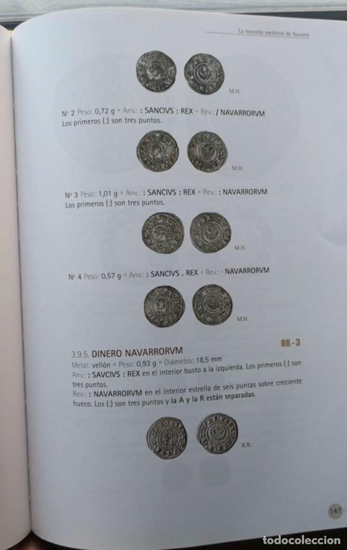 Monedas medievales: Sancho Vll El Fuerte ( 1194-1234) Navarra Navarrorvm variante rarísima luna maciza - Foto 4 - 150414333