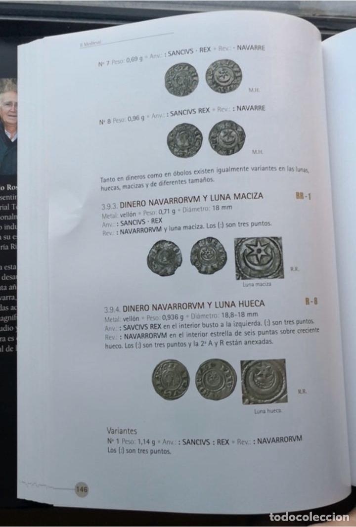 Monedas medievales: Sancho Vll El Fuerte ( 1194-1234) Navarra Navarrorvm variante rarísima luna maciza - Foto 5 - 150414333