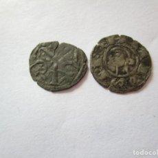 Monedas medievales: LOTE DE DOS BUENOS VELLONES. Lote 205380601