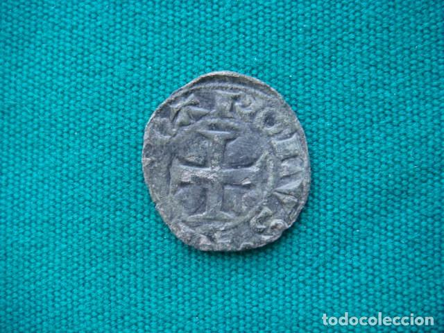 """NAVARRA DINERO DE CARLOS """" EL MALO"""" (Numismática - Medievales - Navarra)"""