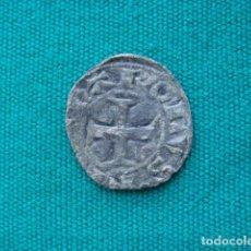 """Monedas medievales: NAVARRA DINERO DE CARLOS """" EL MALO"""". Lote 222739627"""