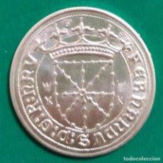 Monedas medievales: MONEDA CARLOS I DE NAVARRA PLATA *. Lote 226045360
