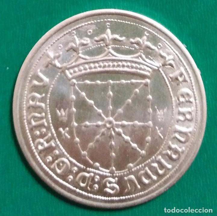 MONEDA CARLOS I DE NAVARRA PLATA * (Numismática - Medievales - Navarra)