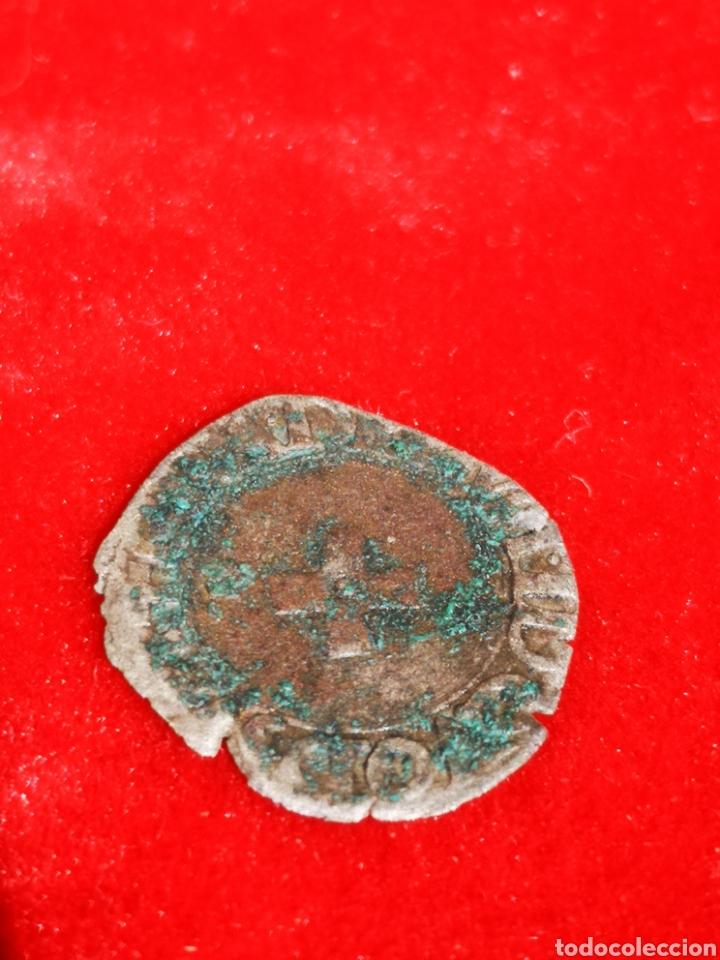 Monedas medievales: Moneda del reino de Navarra enrrique II plata - Foto 2 - 247679850