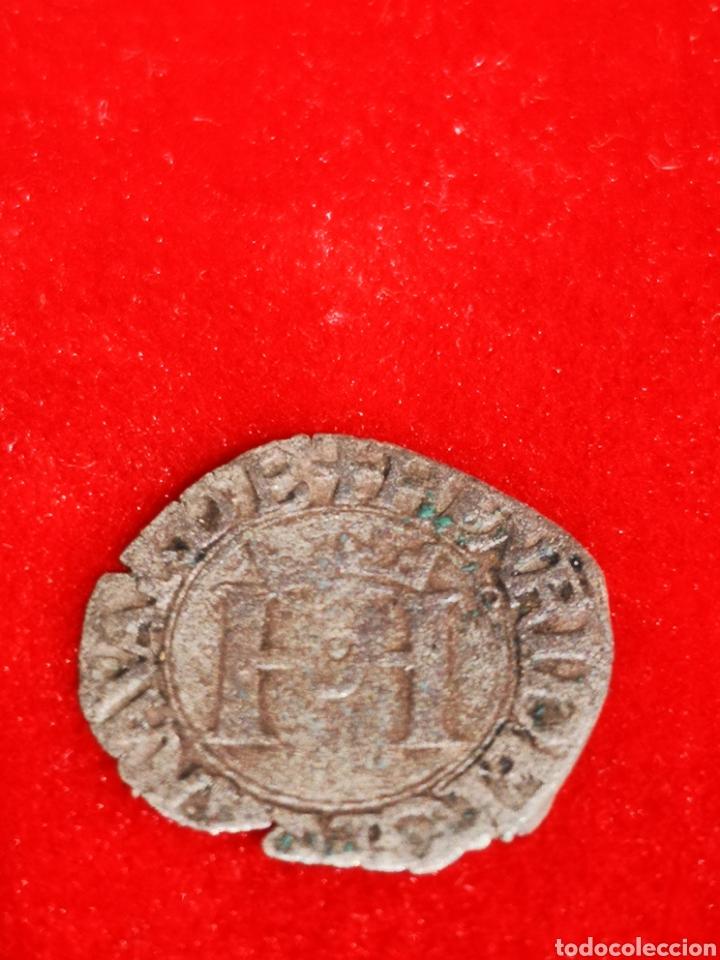 MONEDA DEL REINO DE NAVARRA ENRRIQUE II PLATA (Numismática - Medievales - Navarra)