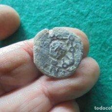 Monedas medievales: CURIOSA MONEDA DEL REINO DE NAVARRA, RESELLADA EN 6 MARAVEDIS DE SEVILLA. Lote 257950525
