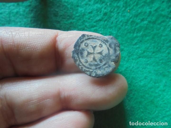 Monedas medievales: Bonitay escasa moneda de Fernando V en el reino de Navarra - Foto 3 - 261251115