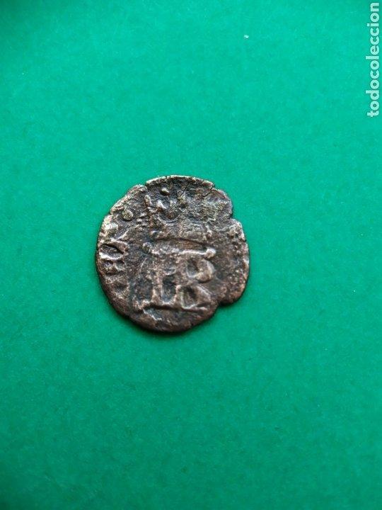 Monedas medievales: Cornado de Catalina y Juan. Navarra - Foto 2 - 266868114