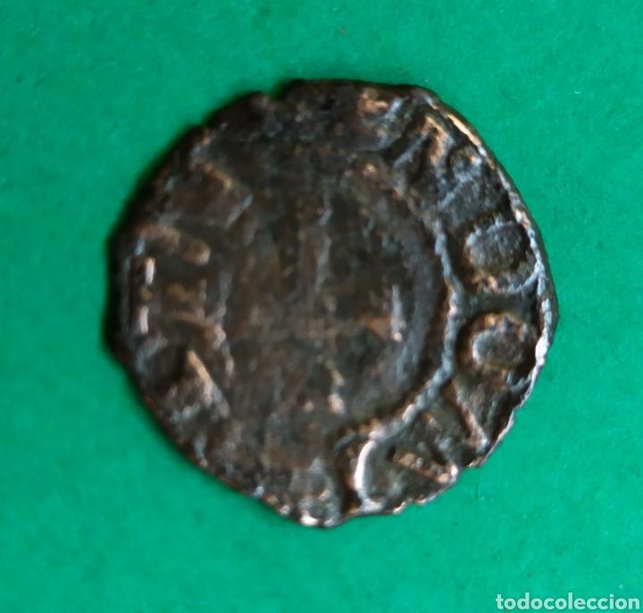 Monedas medievales: 1/2 cornado de Navarra, a identificar - Foto 2 - 266951969