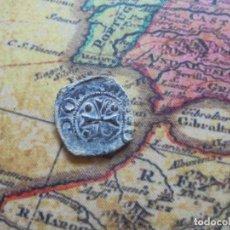 Monedas medievales: BONITA BLANCA DEL REINO DE NAVARRA ,CON CURIOSO ERROR DE ACUÑACION. Lote 278508358
