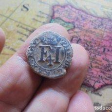 Monedas medievales: PRECIOSA MONEDA DE FELIPE III,FECHA 1610 ,REINO DE NAVARRA. Lote 278508578