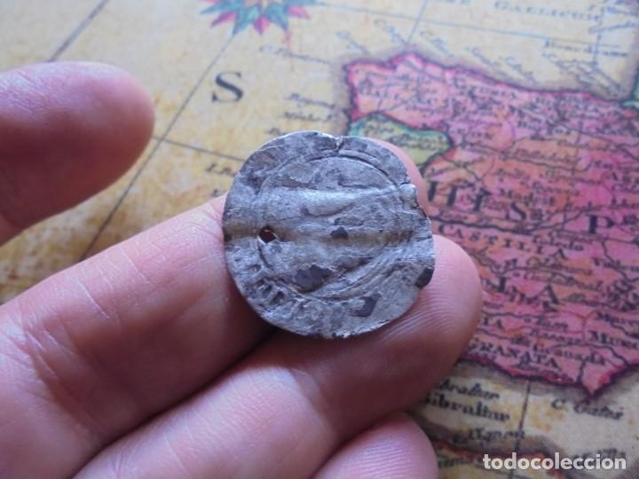 Monedas medievales: escasa moneda de plata del reino de Navarra - Foto 3 - 278508718