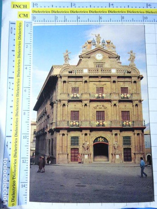 POSTAL DE NAVARRA. AÑO 1992. PAMPLONA AYUNTAMIENTO 3 IRUÑA. 403 (Numismática - Medievales - Navarra)
