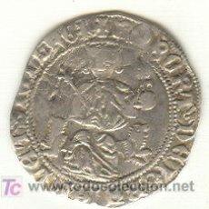 Monedas medievales: MUY BONITO GIGLIATO DE PLATA DE ROBERT D'ANJOU REINO DE NAPOLES (1309-1343) ITALIA. Lote 26228987