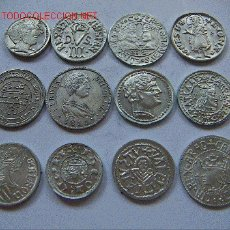 Monedas medievales: LOTE MONEDAS VALENCIANAS. Lote 27322301