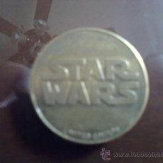 Monedas medievales: MONEDA DE EDICCION LIMITADA DE STAR WARS. Lote 27396659