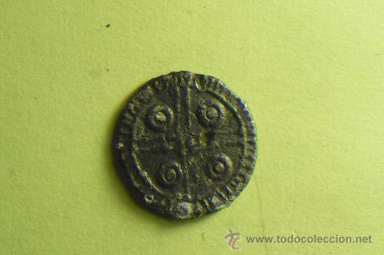 MONEDA DE PLOMO SIN IDENTIFICAR, MUY BONITA TIENE UN PEQUEÑO AGUJERITO EN EL CENTRO (Numismática - Hispania Antigua- Medievales - Otros)