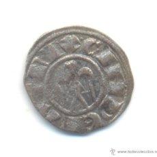 Monedas medievales: 4- DINERO DE SICILIA ENRIQUE VI Y CONSTANZA (1194-1197) CATÁLOGO SPAHR Nº28. Lote 45729615